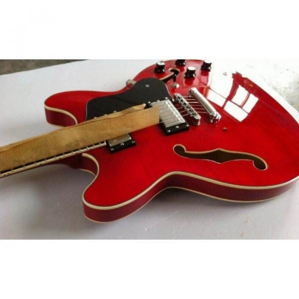 Custom Shop ES339 Antique Red Electric Guitar