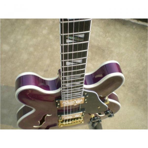 Custom Shop ES335 LP Purple Maple Top Electric Guitar