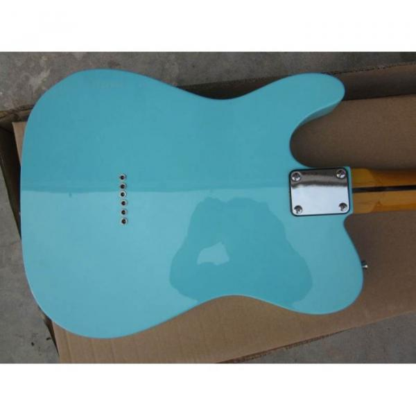 Custom Shop Daphne Blue Telecaster Electric Guitar