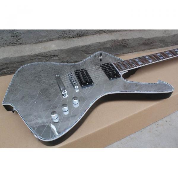 Custom Shop Crystal Iceman Ibanez Abalone Electric Guitar