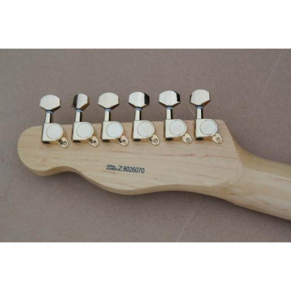 Custom Shop Burlywood Fender Telecaster Electric Guitar