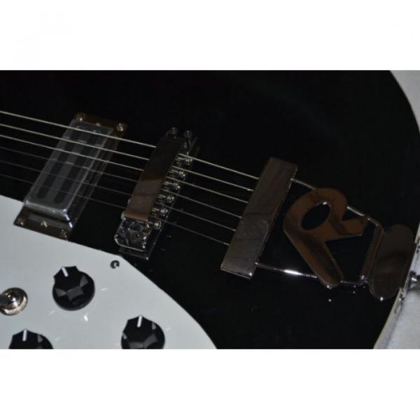 Custom Shop Black Rickenbacker 620 Left Handed Electric Guitar