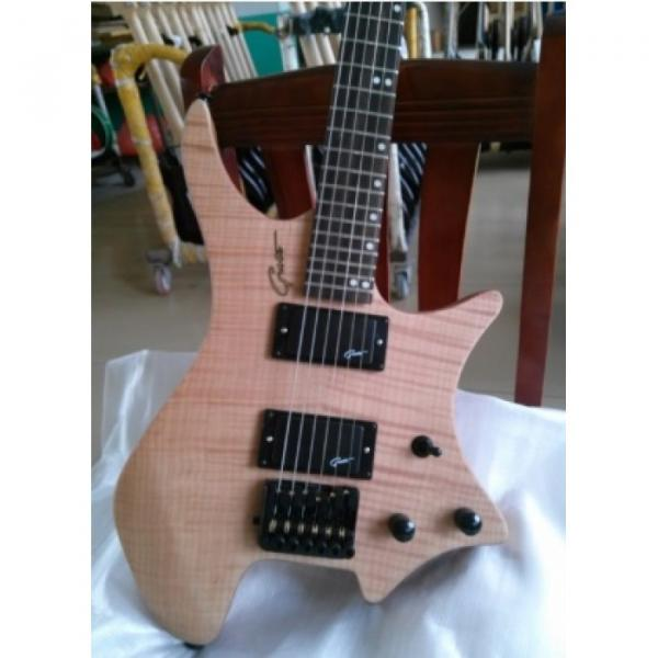 Custom Shop BC Rich Headless Grote Model Electric Guitar