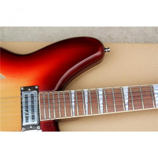 Custom Shop 360 2 Pickups Red Electric Guitar