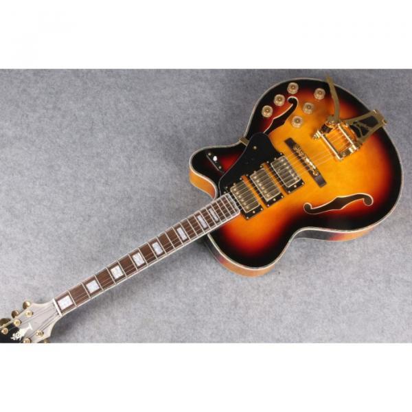 Custom Shop 3 Pickup Bigsby L5 Byrdland Electric Guitar