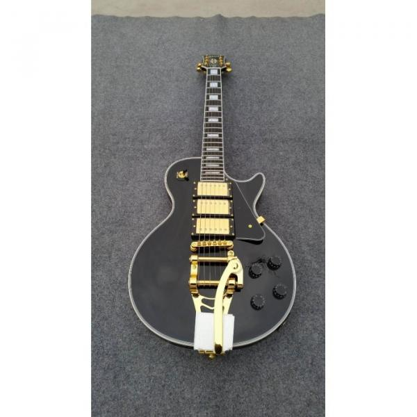 Custom Shop 3 Pickup Bigsby Black Beauty Electric Guitar