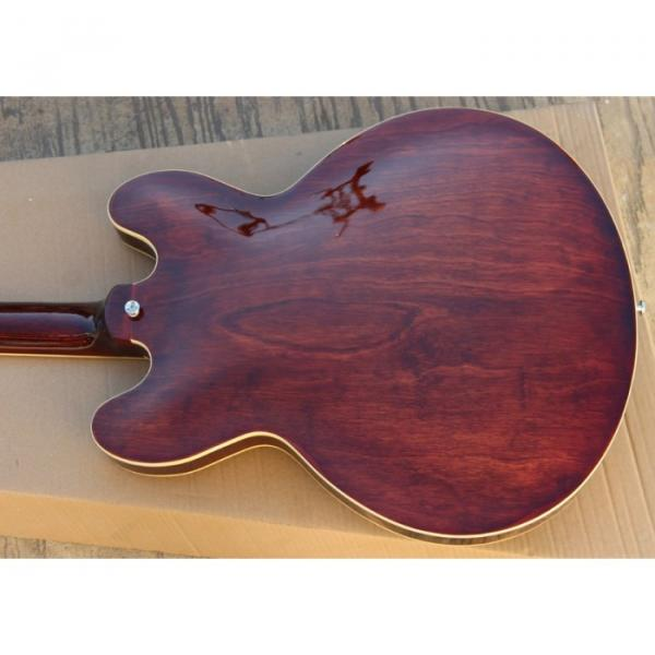 Custom Shop 335 Walnut Finish Jazz Electric Guitar