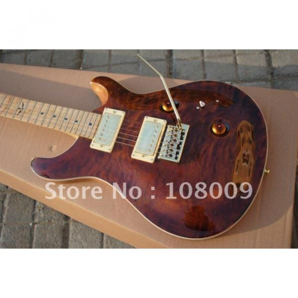 Custom Shop 24 Brown PRS Electric Guitar