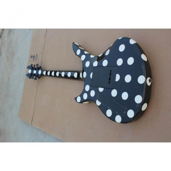 Custom Schecter Polka Dots Electric Guitar