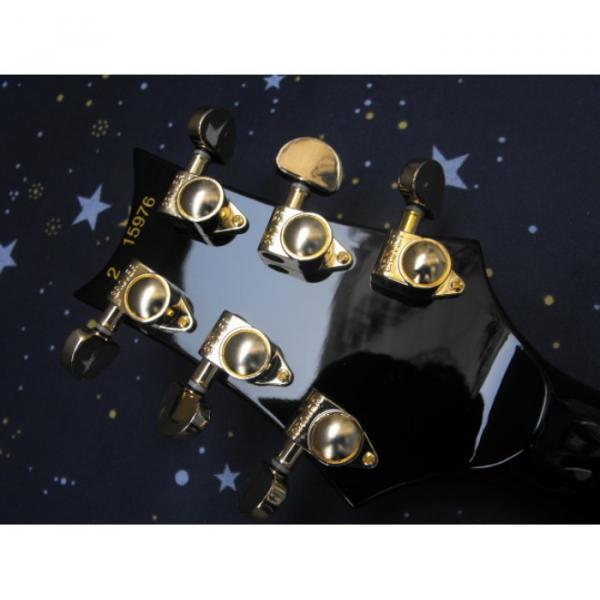 Custom PRS Santana Black Electric Guitar