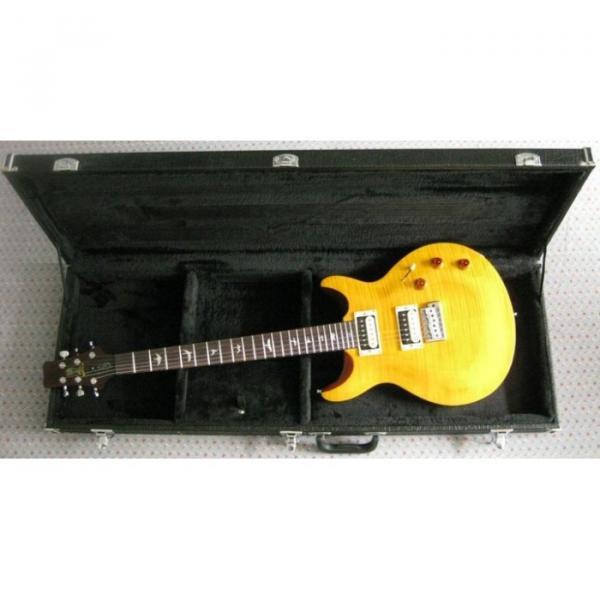 Custom PRS Howard Leese Private Stock Yellow Electric Guitar