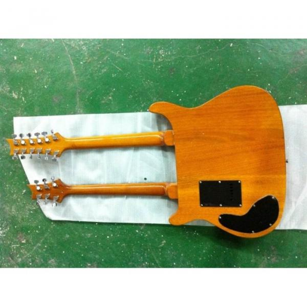 Custom PRS Double Neck Electric Guitar Santana Electric Guitar