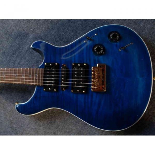 Custom Paul Reed Smith Deep Blue Electric Guitar