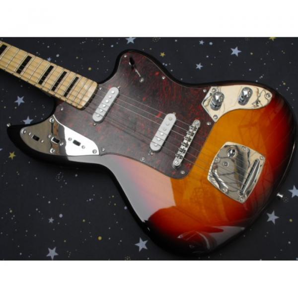 Custom Kurt Cobain Fender Jaguar Vintage Electric Guitar