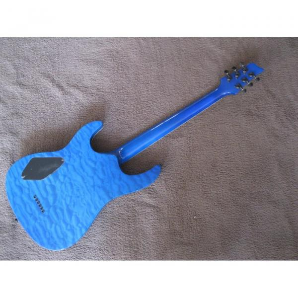 Custom Kepoon Blue Patent A Electric Guitar