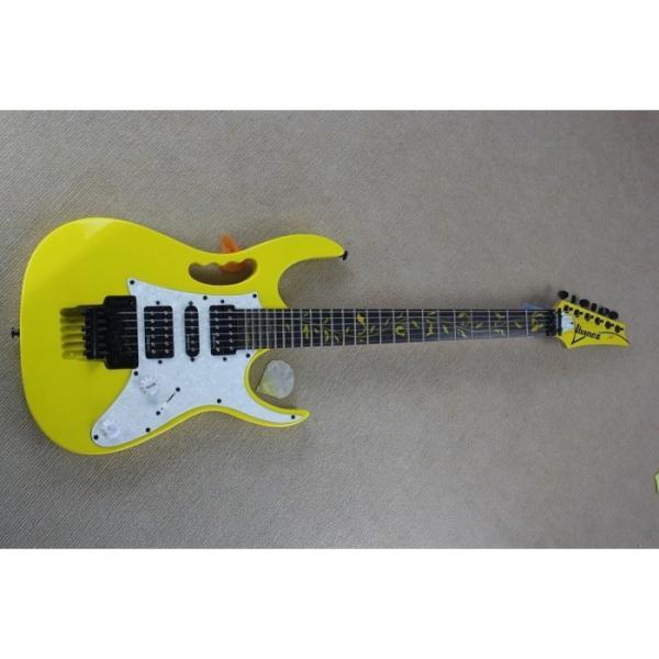 Custom Ibanez Yellow RG Series Electric Guitar