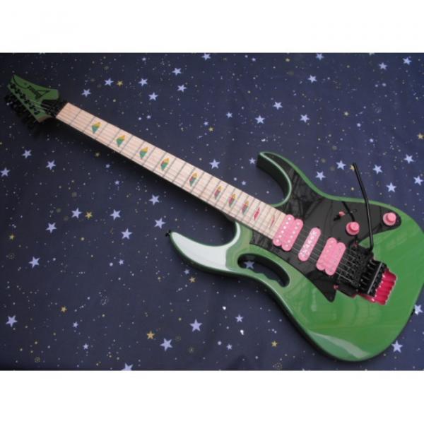 Custom Ibanez Green RG Series Electric Guitar