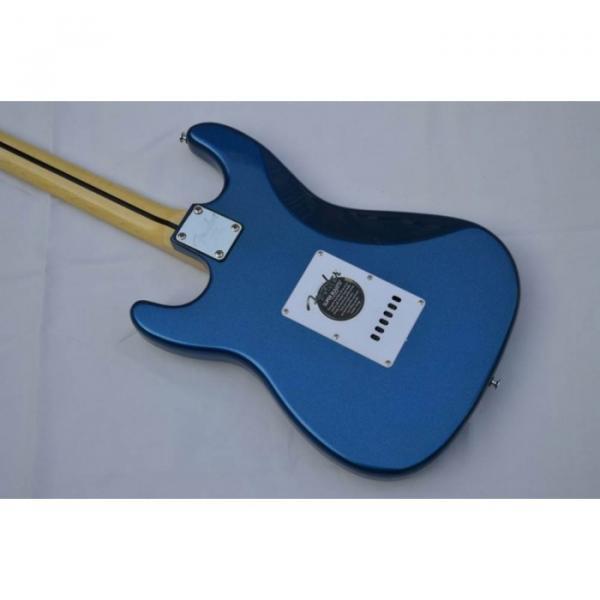 Custom American Fender Strat Metallic Blue Electric Guitar