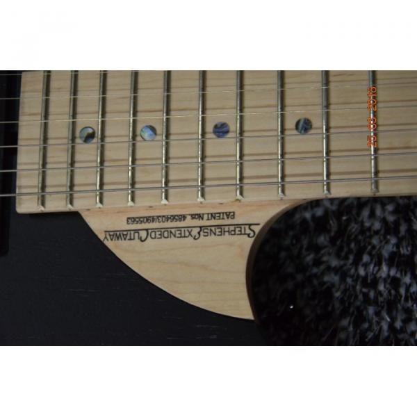 Custom 6 Strings Nuno Washburn Electric Guitar Betten Court Black