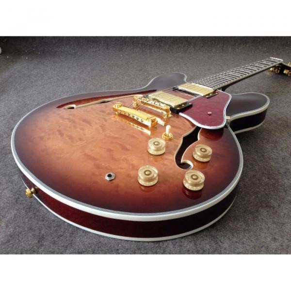 Custom 1960 ES 335 VOS Brown Burst Quilted Jazz Electric guitar
