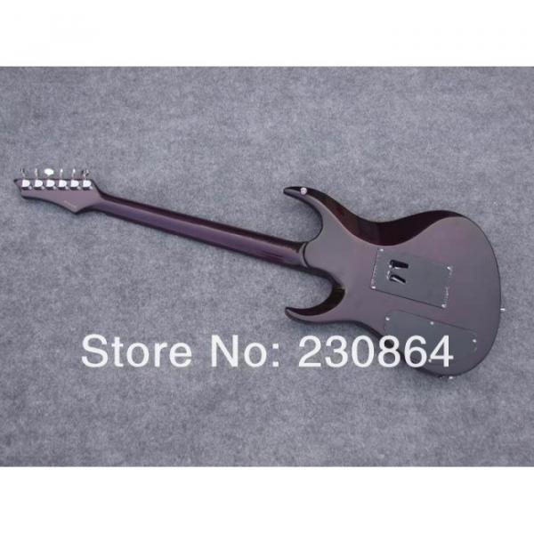 Custom  Washburn RX Violet Flame Maple Veneer Electric Guitar
