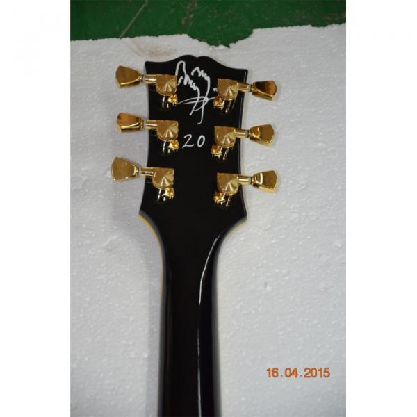 Custom 1957 3 Pickup Bigsby VOS Black Beauty Electric Guitar