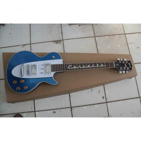 1995 LP 1960 Corvette Custom Shop Blue Electric Guitar