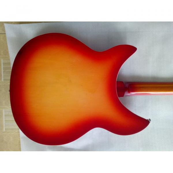 12 Strings Custom Rickenbacker 360 12C63 Fireglo Electric Guitar