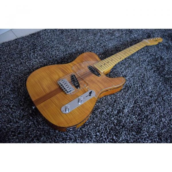 Custom Telecaster Flame Maple Top H.S. Anderson Mad Cat Electric Guitar
