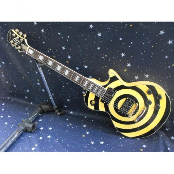Custom Shop Zakk Wylde Cream Epi LP Electric Guitar