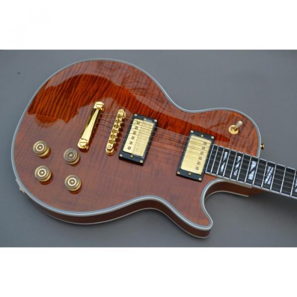 Custom Shop Tiger Maple Supreme LP Electric Guitar