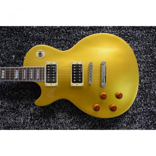 Custom Shop Left Handed Gold Top Slash 6 String LP Electric Guitar