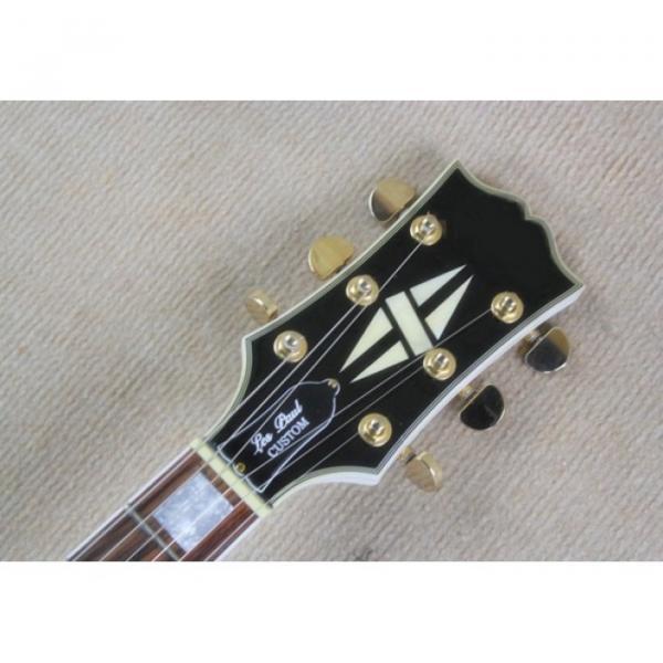 Custom Shop Checkerboard White Black Grid Standard Electric Guitar