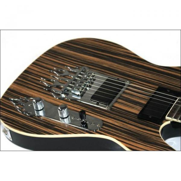 Custom Shop 6 String Telecaster Natural Wood Electric Guitar