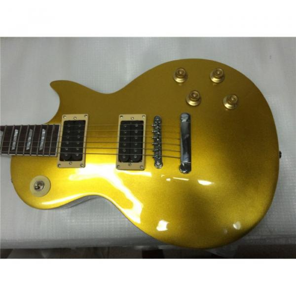 Custom Shop 6 String Gold Top Standard  LP Glossy Electric Guitar
