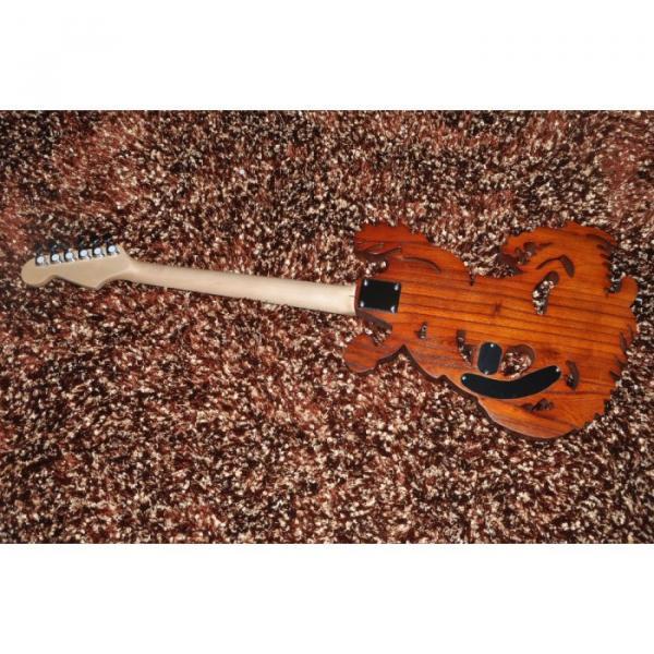Custom Shop 6 String Dragon Electric Guitar Carvings