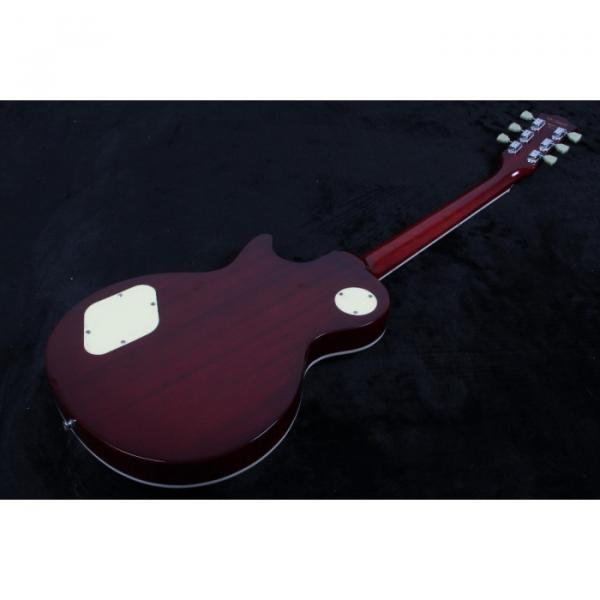 Custom Shop 1959 R9 Tiger Flame LP Electric Guitar