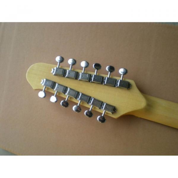Custom Shop 12 String Stratocaster Sunburst Electric Guitar