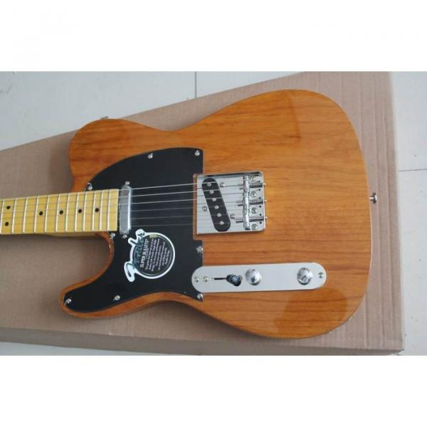 Custom Fender Left Handed Natural Telecaster Electric Guitar