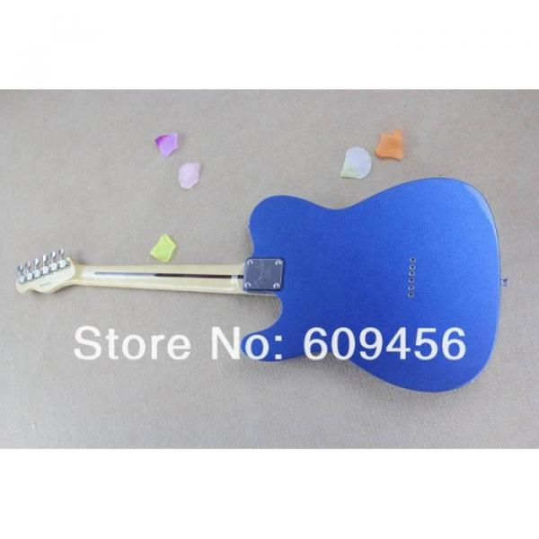Custom Fender Metallic Blue Telecaster Electric Guitar