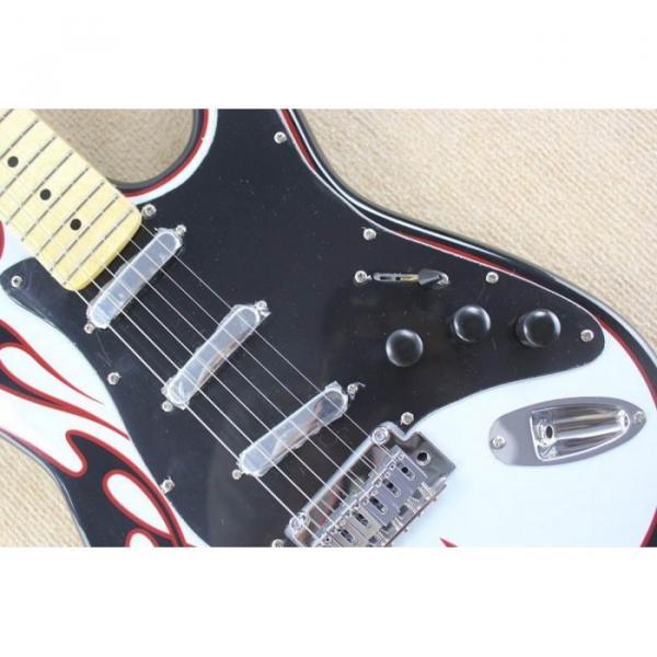 Custom Fender Black High Speed Stratocaster Electric Guitar