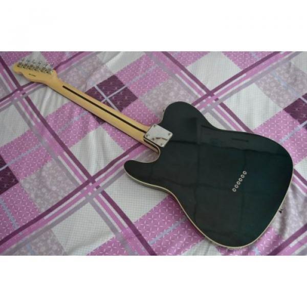 Custom Fender American Standard Telecaster Black Electric Guitar