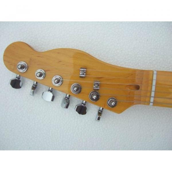Custom American Telecaster Orange Electric Guitar