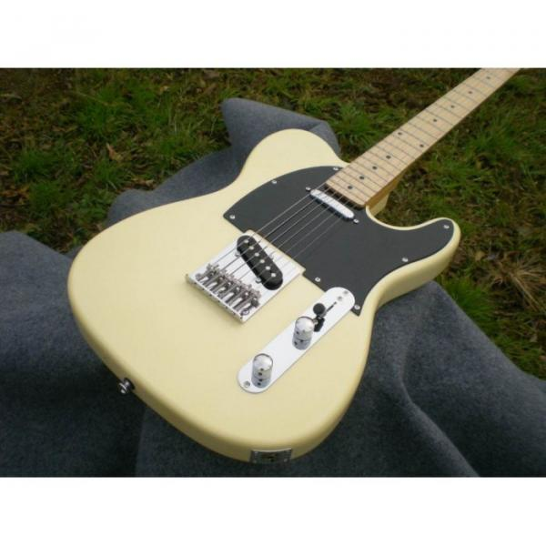 Custom American Standard Danny Gatton Telecaster White Electric Guitar