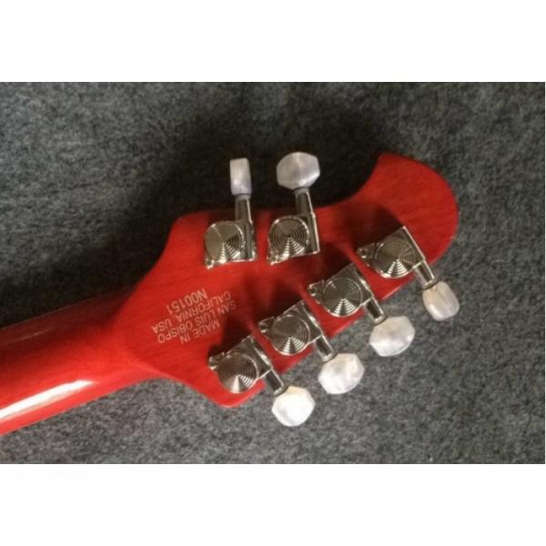 Custom Shop Music Man Red Cream Armada Ernie Ball Guitar