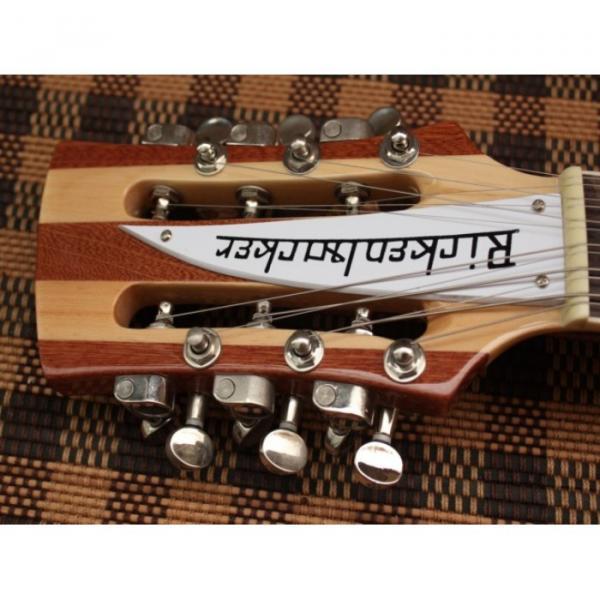 Custom Shop Rickenbacker Natural 12 Strings Guitar