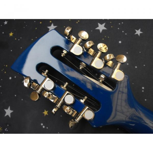 Custom George Beauchamp Rickenbacker 330 Blue Guitar