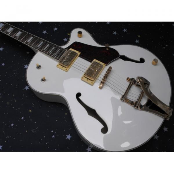 Custom Gretsch White Nashville Electric Guitar