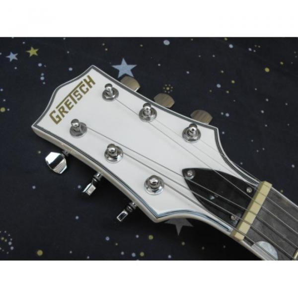 Custom Gretsch G6199 White Billy-Bo Jupiter Thunderbird Guitar