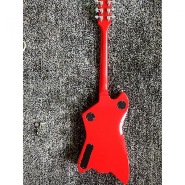 Custom Gretsch G6199 Billy-Bo Jupiter Thunderbird Black Red Authorized Bridge Guitar